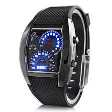 SOXY <b>Fashion</b> Men's Watch Unique <b>LED Digital</b> Watch Rubber ...