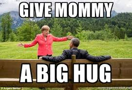 Memes of Angela Merkel speaking to Barack Obama go viral | Daily ... via Relatably.com