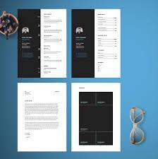 vertical resume template resume cv template