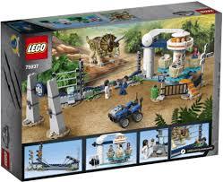 <b>LEGO Jurassic World</b> 75937 <b>Нападение</b> трицератопса, LEGO ...