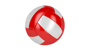 Image result for Volleyball red and white
