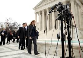 impact of supreme court s affirmative action ruling could reach k abigail fisher walks to the microphones outside the u s supreme court after the court heard arguments in her affirmative action in university admissions