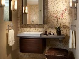 brown bathroom cabinets design