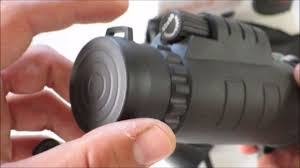 Unboxing and testing <b>40x60</b> Zoom <b>Monocular</b> Telescope for ...