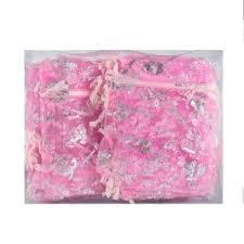 Candy Organza Bag <b>Pink 100pcs</b> 1350 | MYDIN ONLINE