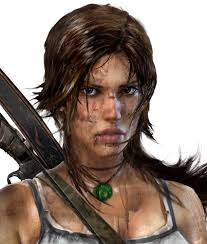 Lara Croft Face. Lara Croft Face. Video Game Art And Design - tr-lara-croft-face