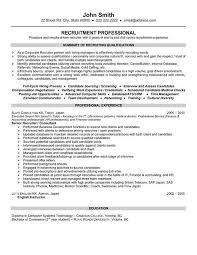 sending resume to recruiter template nurse recruiter resume