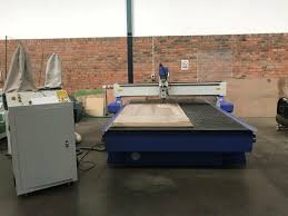 <b>CNC Router</b> with stepper motor, <b>4.5kw spindle</b>, vacuum pump, dust ...
