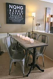 hardware dining table exclusive: weathered wood dining table restoration hardware metal chairs glassybaby drafting table base
