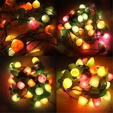 Christmas Tree 3 Meters 20 <b>LED</b> Fruit Lights String Decorative ...