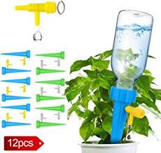 Lurowo 12Pcs/Set <b>Adjustable</b> Self <b>Watering</b> Spike <b>Plant Automatic</b> ...