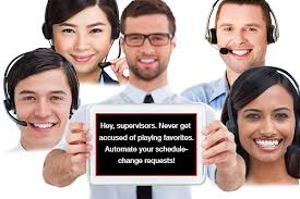 How to Eliminate Perceptions of Bias among Contact Center Agents ... Contact center supervisor automates schedule-change requests, thereby eliminating perceptions of favoritism and bias
