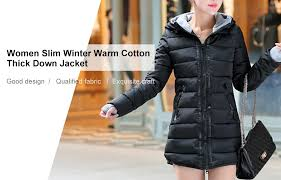 <b>Women Slim Winter Warm</b> Cotton Thick Down Jacket Sale, Price ...