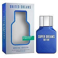United Dreams Super Dreams Go Far by Benetton ... - Amazon.com