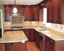small shaped kitchen
