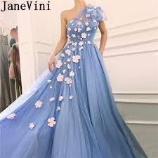JaneVini Dubai Designer Women <b>Prom</b> Dresses 2019 Long <b>One</b> ...
