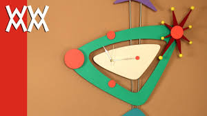 Make this Jetsons <b>wall clock</b>. <b>Retro</b>! Limited tools woodworking ...