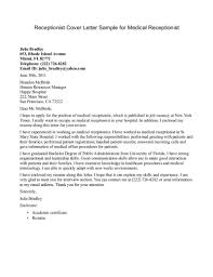 hotel amp hospitality cover letter examples cover letter examples job resume medical receptionist resume cover letter cover letter for hospitality job