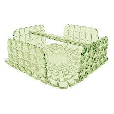 <b>Салфетница</b> квадратная <b>Tiffany</b> зелёная от <b>Guzzini</b> (арт ...