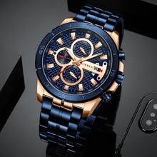 CURREN Business <b>Men Watch</b> Luxury <b>Brand</b> Stainless Steel Wrist ...