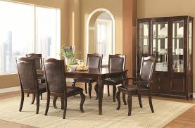 Transitional Dining Room Set Buy Louanna Transitional Leg Dining Table By Coaster From Www