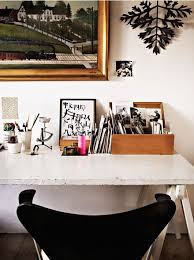 40 floppy but refined boho chic home office designs_4 chic office desk