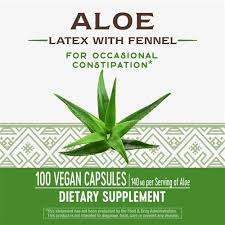 Nature's Way <b>Aloe Latex with Fennel</b> 140 - Buy Online in Gibraltar at ...