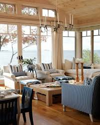 Nautical Decor Living Room Seaside Living Room Ideas The Storage Chest Coffee Table As A
