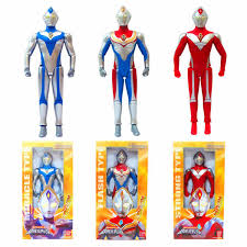 <b>2019 Hot Sale</b> 15cm*23cm PVC Ultraman Rosso Blu Ginga Zero ...
