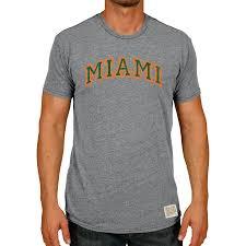 <b>Men's</b> Original <b>Retro</b> Brand Heather <b>Gray Miami</b> Hurricanes <b>Vintage</b> ...