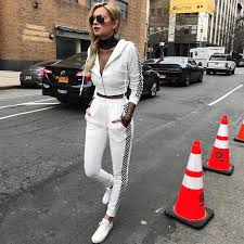 AmberHeard 2019 Spring <b>Autumn</b> Women Sporting <b>Suit</b> Sweatshirt+ ...