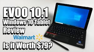 EVOO 10.1 Windows 10 $79 2 in 1 Tablet Review - Is It Any Good ...