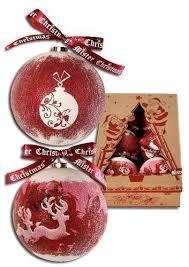 "<b>Набор шаров</b> ""Папье-маше"" бренда Mister <b>Christmas</b> – купить по ..."