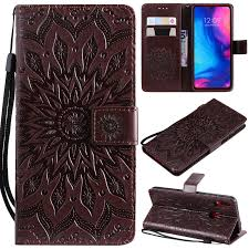 3D <b>Luxury Wallet Flip case</b> with Stand for Funda Xiaomi Redmi Note 7