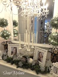 shabby chic office supplies. shab chic christmas home tour debbiedoos shabby decor office supplies