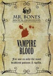 pkt of 4 <b>halloween</b> horror party wine bottle labels stickers <b>blood</b>