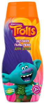Купить Русская Косметика <b>Гель</b>-<b>пена для душа</b> Trolls 300 мл по ...