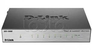 <b>Коммутатор D-Link DES-1008D/L2B</b>