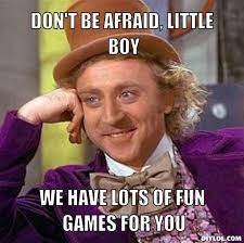 Creepy Willy Wonka Meme Generator - DIY LOL via Relatably.com