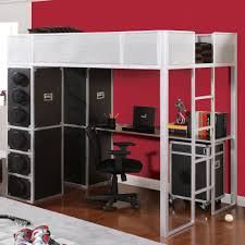 gallery of twin loft bed with desk and dresser amazing loft bed desk