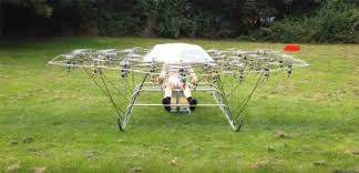 The Swarm-Manned Vehicle Multirotor <b>Super Drone Flying</b> ...