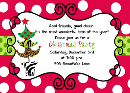 christmas party invitation ideas net christmas party invitation plumegiant party invitations