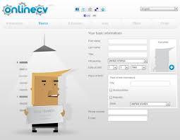 onlinecv best free online resume builder site and cv generator best resume maker what are some free resume builder sites