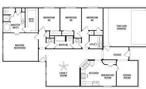 one level floor plans bed examples of habitat homes habitat for     bedroom single story house plans wonderful bedroom single story house plans home designs