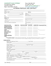 best photos of printable blank bid proposal forms printable printable catering proposal forms