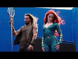 A Match Made In Atlantis 'Aquaman' Behind The Scenes - YouTube