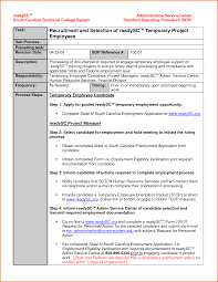 office letters examples sample executive assistant cover letter  14 standard operating procedures templates authorizationletters org