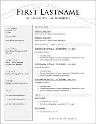 resume  free good resume writing templates free resume cover        resume  free good written resume template sample with employment experience history and education details for