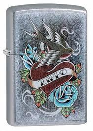 Купить <b>Зажигалка ZIPPO</b> 29874 <b>Vintage</b> Tattoo - Винтажная ...