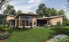 Ranch House Plans   a Modern FeelRanch House Plans The Hamburg